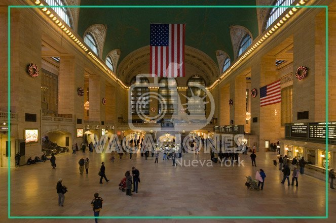 Gran Estación Central en Nueva York - Grand Central Station New York