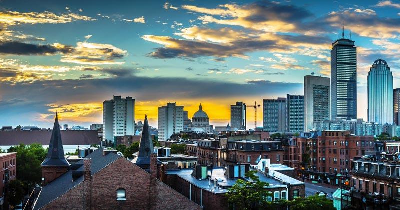 4 maneras de llegar a Boston desde Nueva York