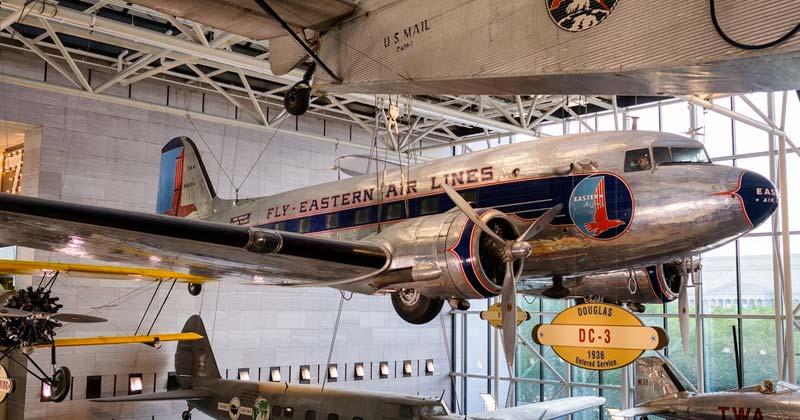 Las maravillas del Museo del Aire y el Espacio en Washington