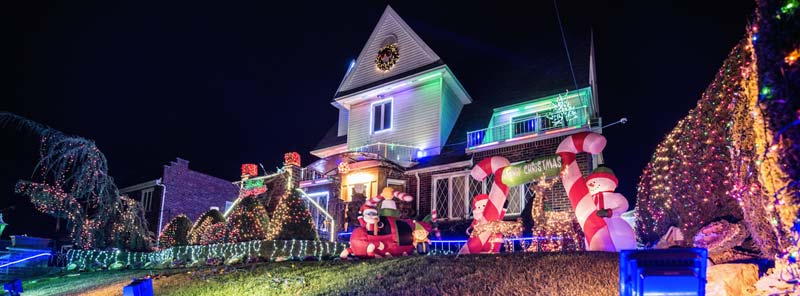 Así es Navidad en Dyker Heights