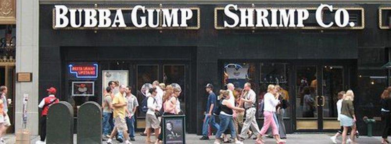 Restaurante Bubba Gump NY