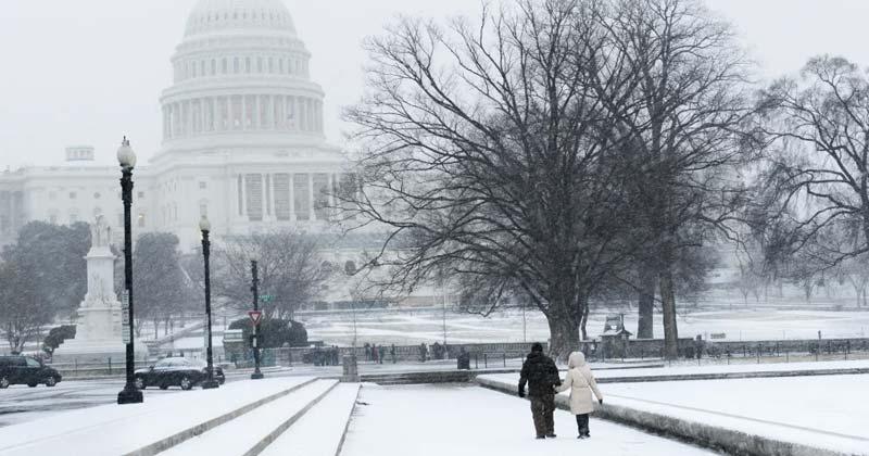 ¿Qué ropa debes vestir si visitas Washington en invierno?