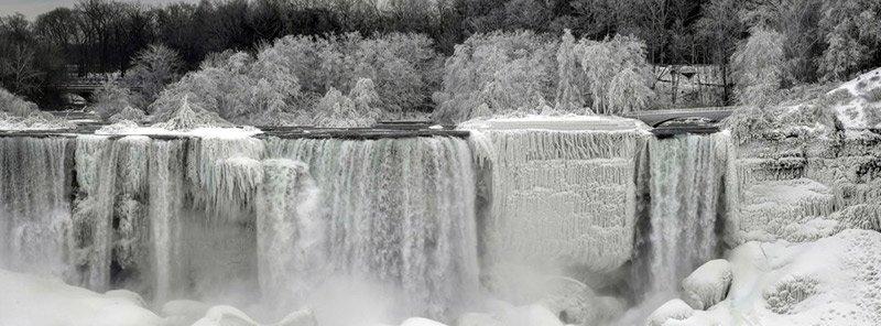 cataratas del Niágara en invierno