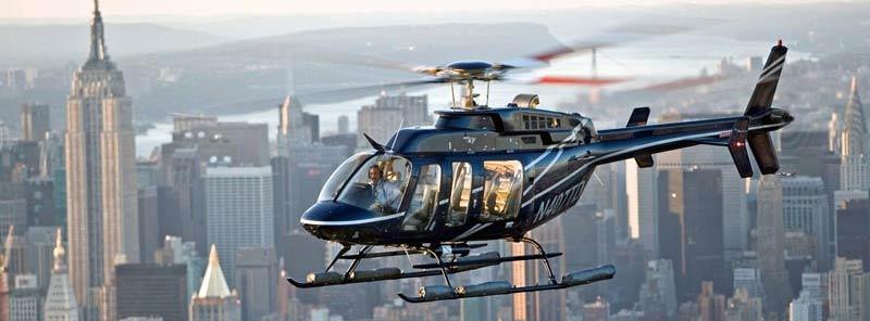paseo en helicóptero por Manhattan