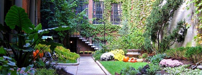 jardines ocultos de Boston