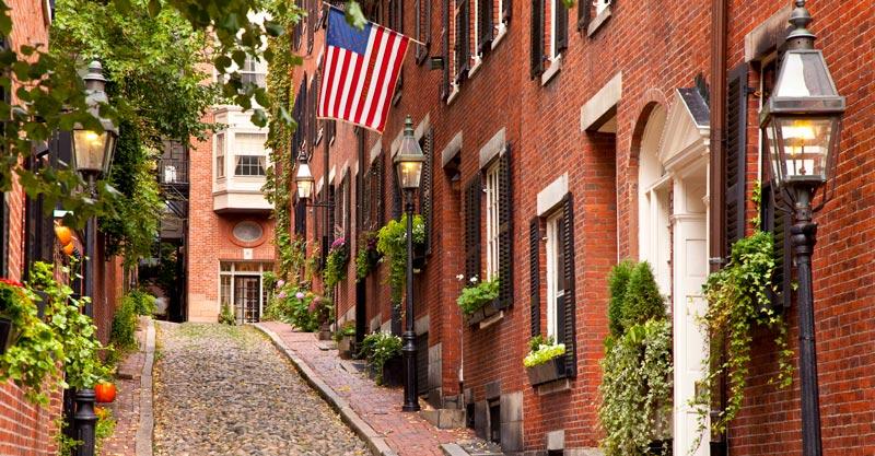 Un recorrido por los Jardines ocultos de Boston