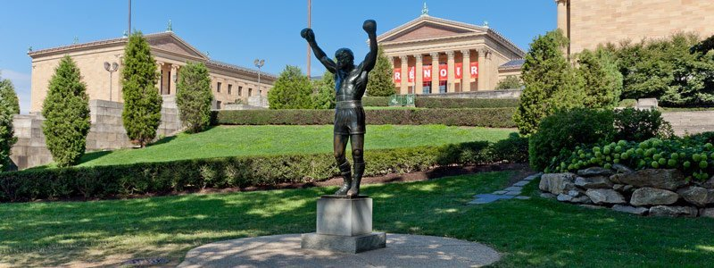 estatua de Rocky