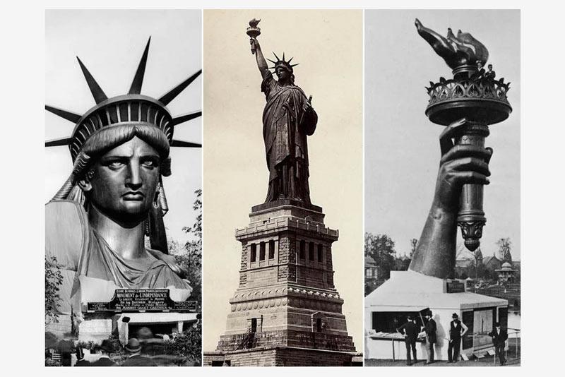 inicios de la Estatua de la Libertad