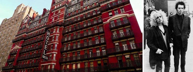 Hotel Chelsea en Nueva York