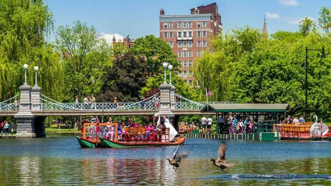 11 Parques naturales de Boston, de cerca con la naturaleza