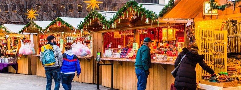 Navidad en Filadelfia - LOVE Park