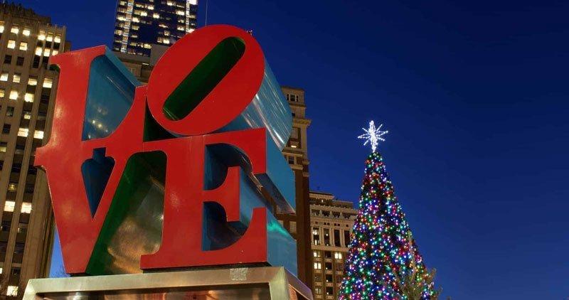 Celebraciones de navidad en Filadelfia