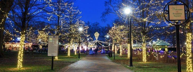Navidad en Filadelfia - Franklin Square