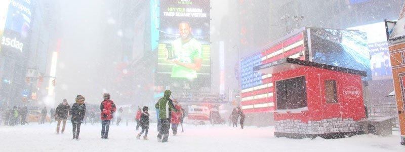 moda en invierno en NYC