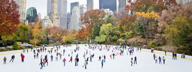 Patinaje sobre hielo NYC