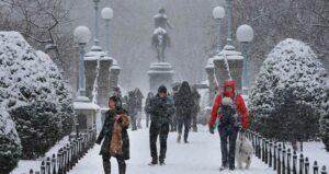 Disfrutar el invierno en Boston