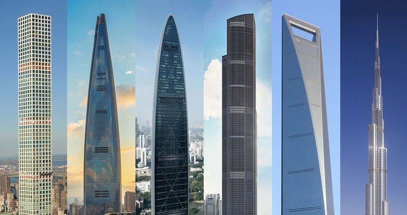 Las 12 torres más altas del mundo