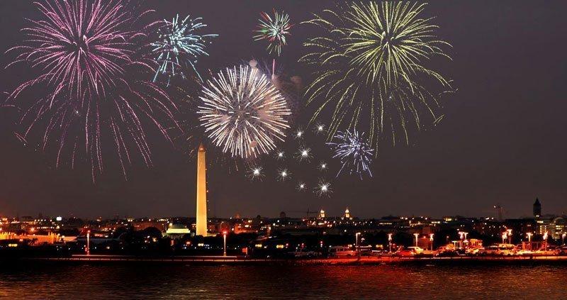 Dónde ver los mejores shows de fuegos artificiales del 4 de Julio en Washington D.C.