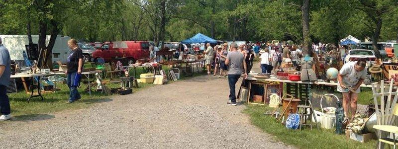 Mercados de las pulgas y al aire libre en Brooklyn