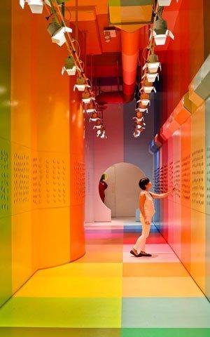 Color Factory la exhibición presente en Nueva York