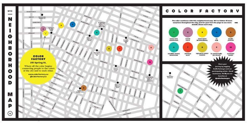 Color factory: la exposición más colorida
