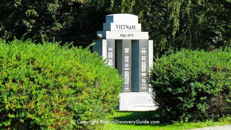 Monumentos de guerra de Boston