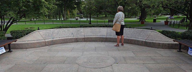 Principales Monumentos de guerra en Boston