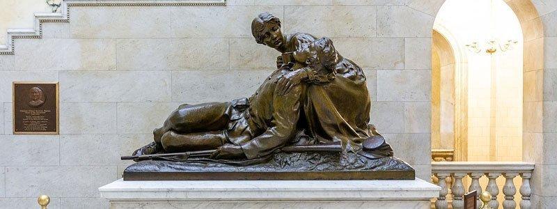 monumentos de guerra ubicados en Boston