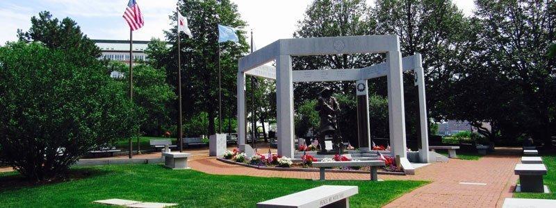 Monumentos de guerra y estatuas en Boston