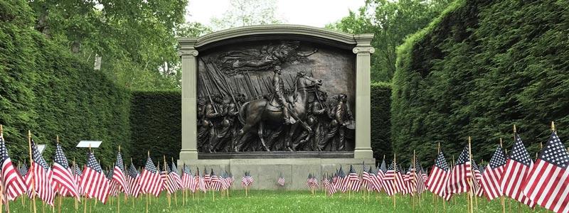 memorables monumentos de guerra en Boston