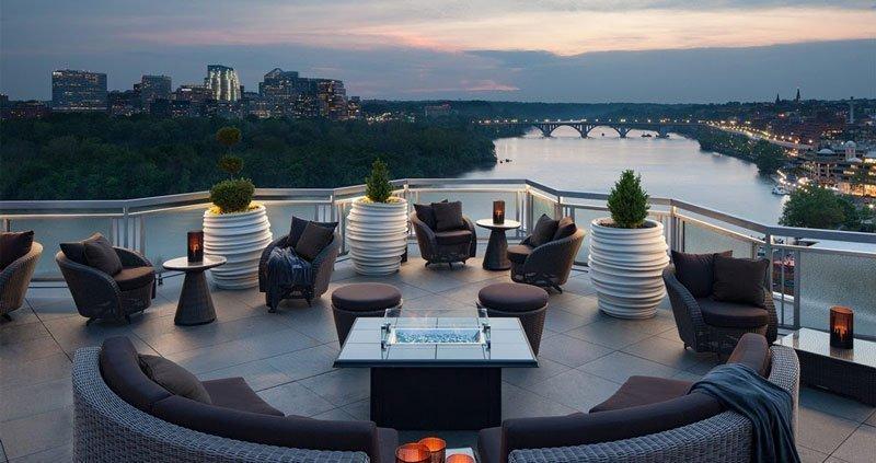18 bares y restaurantes con terrazas de Washington DC