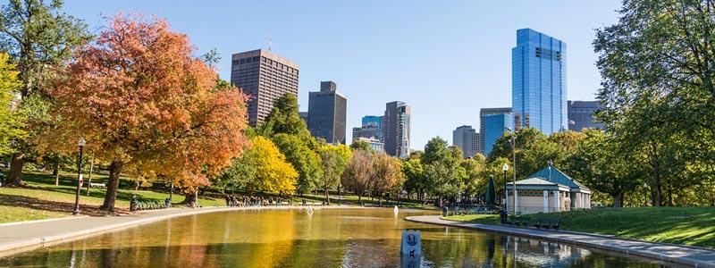 Follaje de otoño en Boston y sus alrededores
