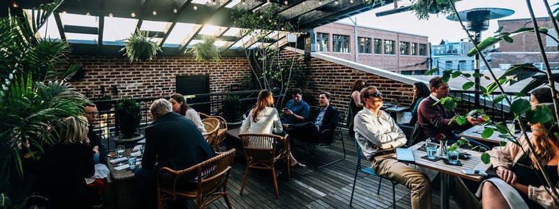Bares con terraza exterior en Washington D.C.