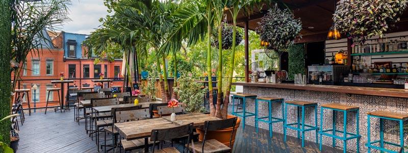 Los mejores patios de restaurante para cenar al aire libre en DC