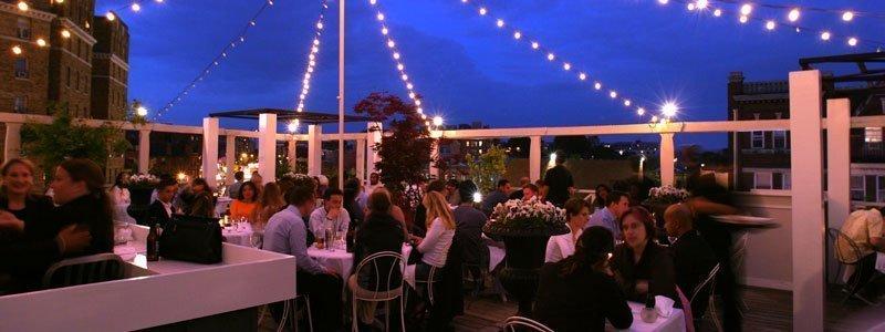 bares y restaurantes con azotea de Washington