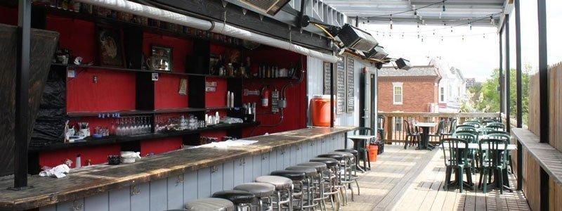 bares y restaurantes ubicados en terrazas de washington