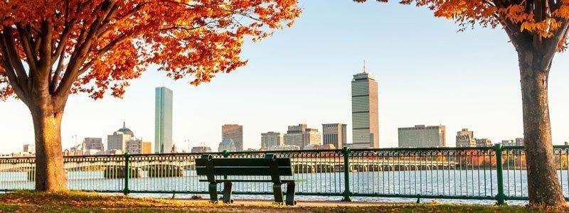 Follaje De Otoño En Boston