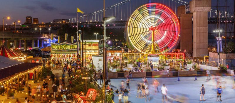 Blue Cross RiverRink Summerfest and The Midway Filadelfia