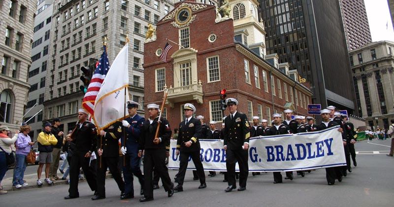 Celebración del Columbus Day en Boston